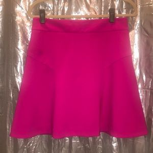 Fit & Flare Hot Pink Professional Skirt